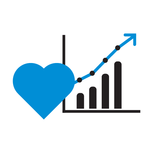 marketing emotional analytics icon
