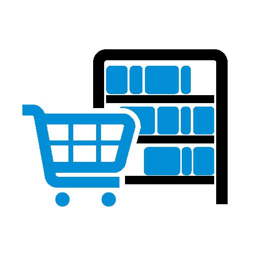 marketing in shelf visibility icon