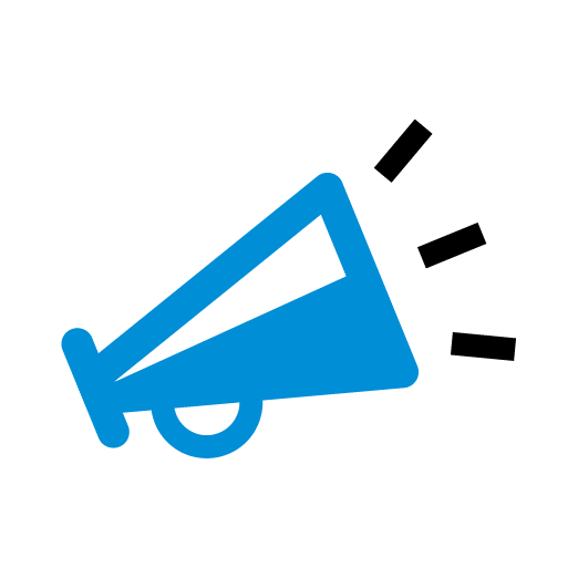 marketing visual copy test icon